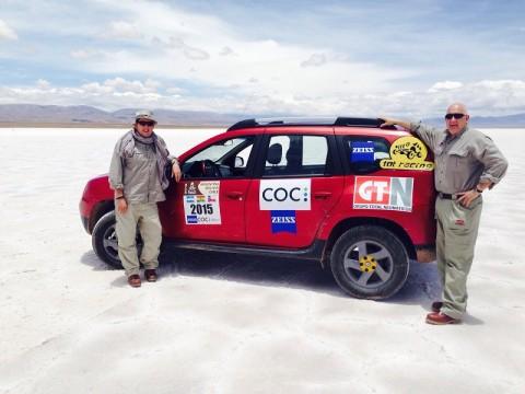 COC EN EL RALLY DAKAR 2015