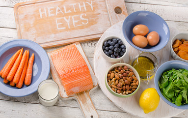 Algunos nutrientes naturales que pueden ayudar a mejorar la visión