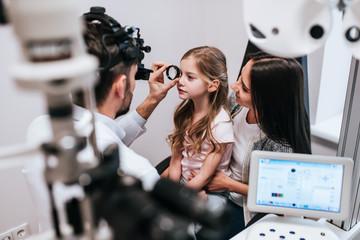 Control de miopía en niños